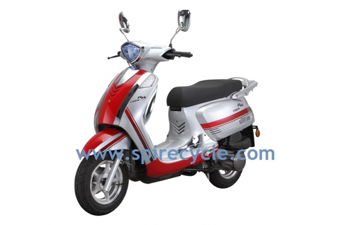 gas scooter YB150T-12