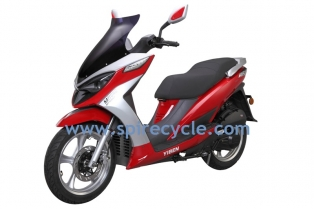 gas scooter YB150T-11